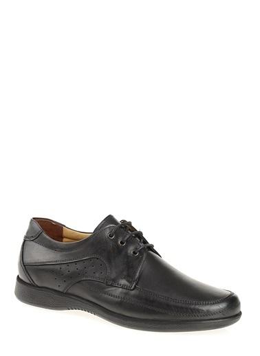 D by Divarese %100 Deri Günlük Ayakkabı Siyah
